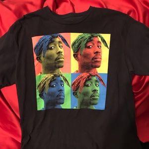 Rare Tupac Shakur T Shirt - XL